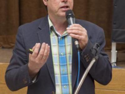 Kreisobmann Mathias Klöffel