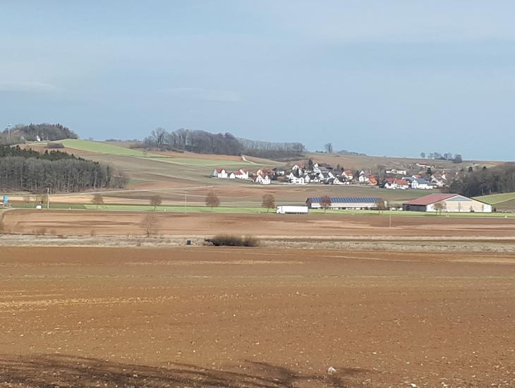 Blick auf den Ortsteil Schopflohe