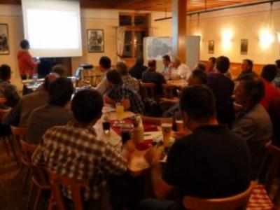 Ortsversammlung am 19.08.2015 in Kranzberg (Gasthaus Hörger)