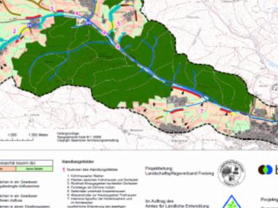 Brennpunkte für zielführende Maßnahmenumsetzung im Projektgebiet
