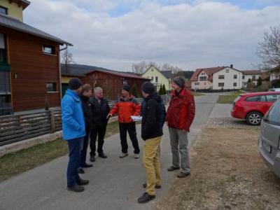 Ortsbegehung mit Fachleuten des ALE Oberpfalz und AELF Amberg