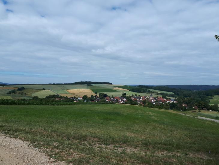 Blick auf Oberleiterbach
