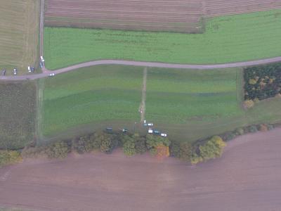 Versuchsflächen Zwischenfruchtanbau Heigenhausen