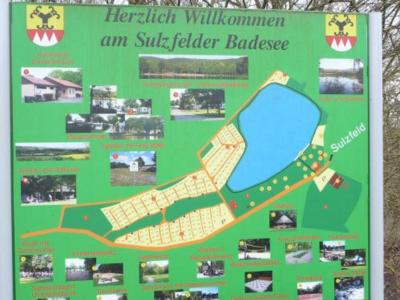 Tafel Sulzfelder Badesee