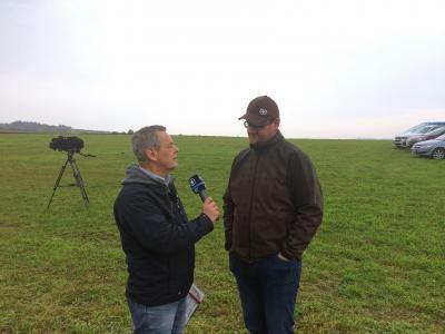 Der BR im Gespräch mit dem Landwirt